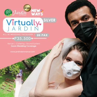 Virtually Jardin Silver wedding promo